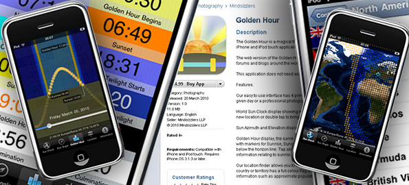 Golden Hour comes to iPhone « Mindsizzlers
